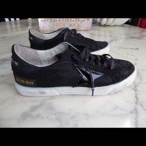 Golden Goose  Women's Black May Sneakers US size 6